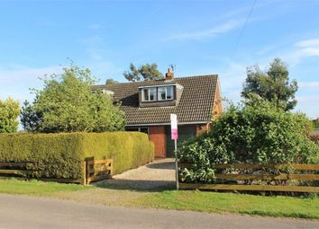 Thumbnail 3 bed detached bungalow for sale in Low Road, Wainfleet St Mary, Skegness, Lincolnshire