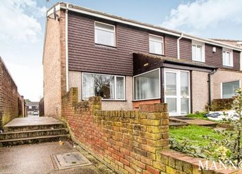 Thumbnail 3 bed end terrace house to rent in Conifer Way, Swanley