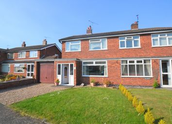 Thumbnail 3 bed semi-detached house to rent in Ruskin Avenue, Syston, Leicester