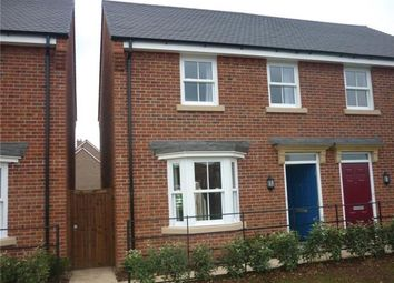 Thumbnail 3 bed semi-detached house to rent in Greenkeepers Road, Biddenham, Bedford