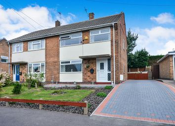 Thumbnail 3 bed semi-detached house for sale in Grundy Avenue, Selston, Nottingham
