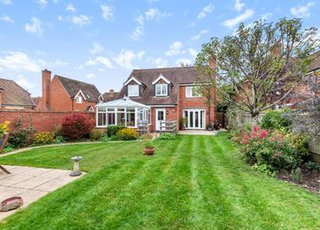 Thumbnail 4 bed detached house for sale in Upper Bucklebury, West Berkshire