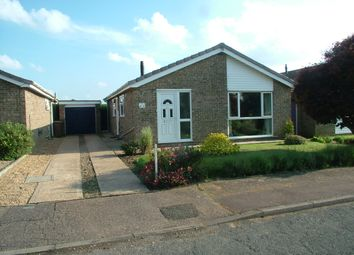 Thumbnail 3 bed detached bungalow for sale in Hoveton Drive, Swaffham