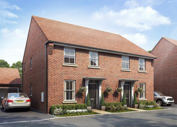 "Thumbnail 3 bed end terrace house for sale in ""Ashurst"" at Wookey Hole Road, Wells"