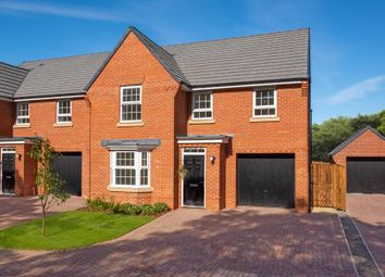"Thumbnail 4 bed detached house for sale in ""Millford"" at Green Lane, Barnard Castle"