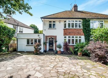 Thumbnail 3 bed semi-detached house for sale in Gallows Hill, Kings Langley