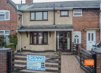 Thumbnail 3 bed terraced house to rent in Bagnall Street, Leamore, Walsall