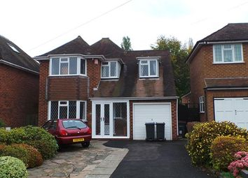 Thumbnail 4 bed detached house for sale in Longdon Drive, Four Oaks, Sutton Coldfield