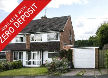 Thumbnail 3 bed semi-detached house to rent in Slideslow Avenue, Bromsgrove, Worcestershire