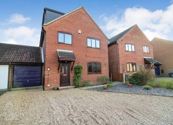 Thumbnail 4 bed detached house for sale in Saxonfields, Poringland, Norwich