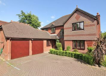 Thumbnail 4 bedroom detached house for sale in Calabrese, Swanwick, Southampton