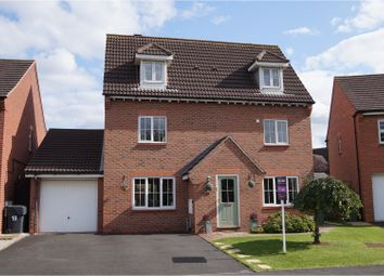Thumbnail 4 bed detached house for sale in Astley Road, Bromsgrove