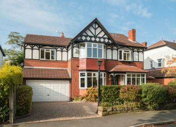 Thumbnail 6 bed detached house for sale in Wyngate Road, Hale, Altrincham
