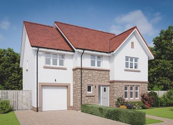 Thumbnail 4 bed detached house for sale in Drysdale Avenue, Larbert