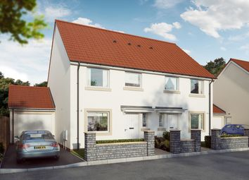 "Thumbnail 3 bed semi-detached house for sale in ""The Eveleigh"" at Mill Lane, Bitton, Bristol"