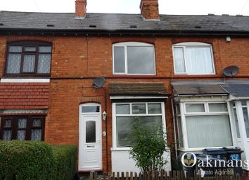 Thumbnail 3 bed terraced house to rent in Maas Road, Birmingham, West Midlands.