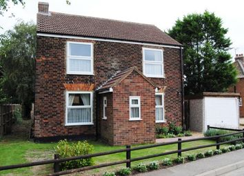 Thumbnail 3 bed detached house for sale in Wiggenhall St. Germans, Kings Lynn, Norfolk