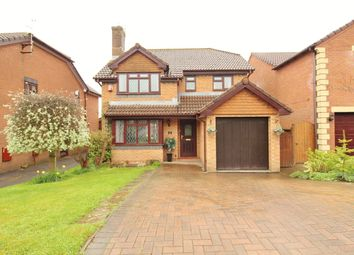 Thumbnail 4 bed detached house for sale in Alwyn Close, Rogerstone, Newport