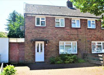 Thumbnail 3 bed semi-detached house for sale in Egerton Close, Cambridge
