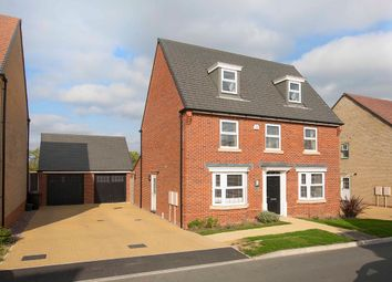 Thumbnail 5 bed detached house for sale in Harrier Close, Weldon, Corby