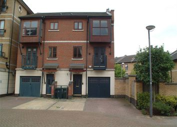 Thumbnail 3 bedroom town house to rent in Capulet Mews, Britannia Village, London
