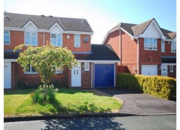 Thumbnail 2 bed semi-detached house to rent in 16 Baskeyfield Close, Lichfield, Staffordshire