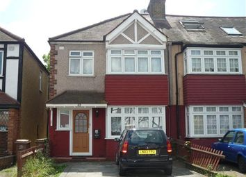 Thumbnail 3 bed end terrace house to rent in Chatsworth Road, Cheam, Sutton