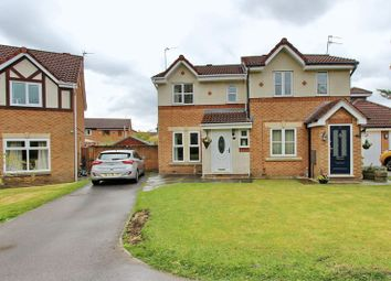 Thumbnail 3 bed semi-detached house for sale in Waterdale Drive, Whitefield, Manchester