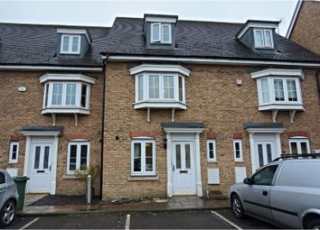 Thumbnail 3 bed terraced house for sale in Watling Gardens, Dunstable