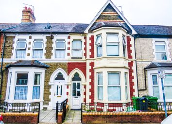 Thumbnail 4 bed terraced house for sale in De Burgh Street, Riverside, Cardiff