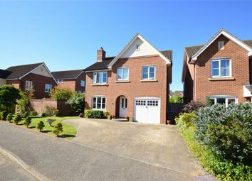 Thumbnail 4 bed detached house for sale in Bluebell Way, Hatfield, Hertfordshire