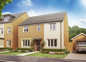 "Thumbnail 4 bed detached house for sale in ""The Chedworth"" at Christie Drive, Off Hinchingbrooke Park Road, Huntingdon"