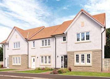 "Thumbnail 3 bed semi-detached house for sale in ""The Avon"" at Roman Road, Balfron, Glasgow"