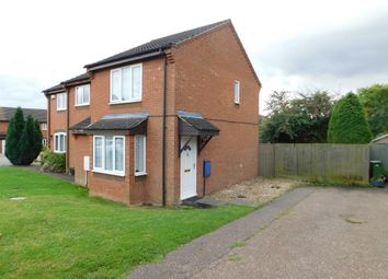 Thumbnail 2 bed semi-detached house to rent in Sawmill Close, Wymondham