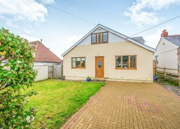Thumbnail 3 bedroom detached bungalow for sale in Pencoedtre Road, Barry