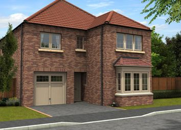 Thumbnail 4 bed detached house for sale in The Redbourne, Thorpe Lane, South Hykeham, Lincolnshire