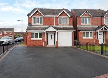 Thumbnail 4 bed detached house for sale in Waterdale Grove, Meir Hay, Stoke-On-Trent
