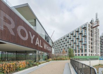 Thumbnail 2 bedroom flat for sale in Anchor Building, Royal Wharf, Royal Docks, London