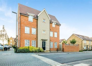 Thumbnail 3 bed town house for sale in Butter Row, Wolverton, Milton Keynes, Bucks