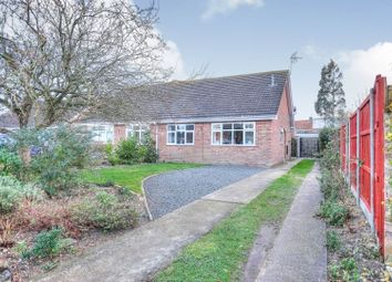 Thumbnail 2 bed semi-detached bungalow for sale in Turner Close, Bungay