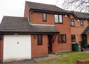 Thumbnail 3 bedroom end terrace house for sale in Tividale Street, Tipton