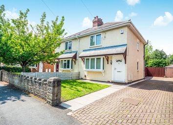 Thumbnail 2 bed semi-detached house for sale in Woden Avenue, Wolverhampton