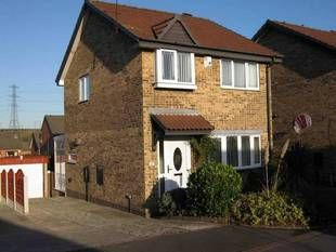 Thumbnail 3 bed detached house to rent in Bradshaw Avenue, Rotherham