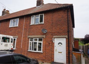 Thumbnail 2 bed semi-detached house for sale in Goring Road, Colchester