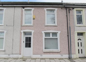 Thumbnail 3 bed terraced house for sale in Queens Crescent, Rhymney, Tredegar