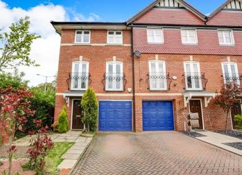 Thumbnail 4 bed end terrace house for sale in Abbeydale Close, Cheadle Hulme, Cheadle, Greater Manchester