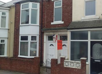 Thumbnail 3 bed flat to rent in South Woodbine Street, South Shields