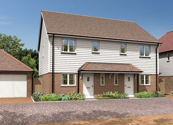Thumbnail 2 bed semi-detached house for sale in The Chilgrove, Ghyll Croft, Newick Hill, Newick, Lewes, East Sussex