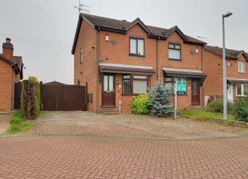 Thumbnail 2 bed property to rent in Ellis Close, Preston, Hull