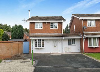 Thumbnail 3 bedroom detached house for sale in Grovefields, Leegomery, Telford